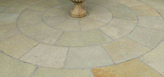 Kotah Brown Limestone Circle Kit