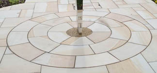 Lemon Sandstone Circle