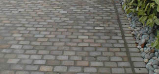Mixed Brown Sandstone Cobbles