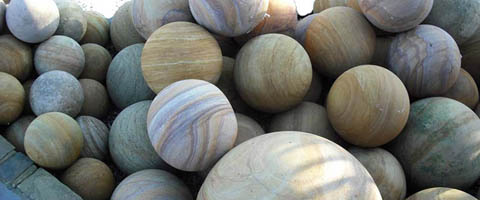 Natural Stone Spheres
