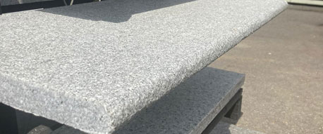 Grey Granite Steps