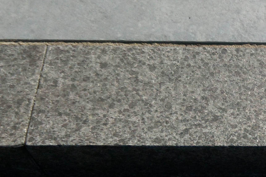 Granite Stone Edging : Black granite edging flamed rock unique ltd